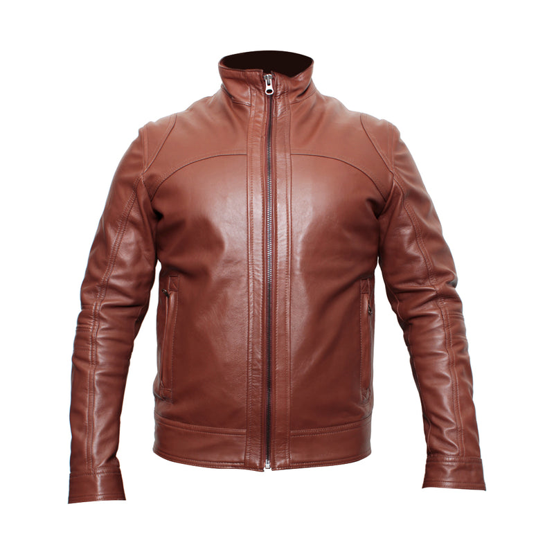 Mens Jacket (James) - The Leather Boutique