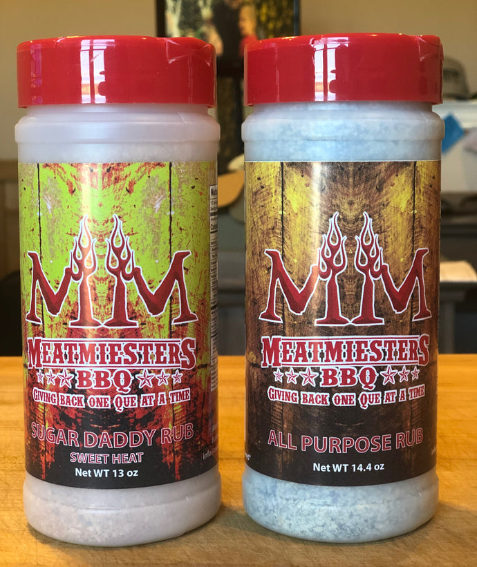 Meatmiesters Seasoning Duo