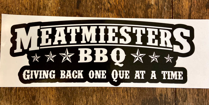 Meatmiester Decal (Small)