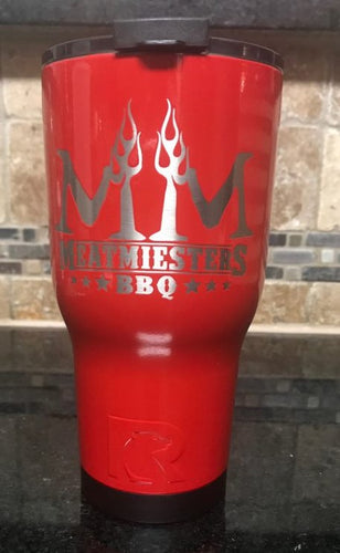 Custom Meatmiester RTIC Cup