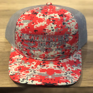 Premium Red & Grey Digi Camo Meatmiester Hat