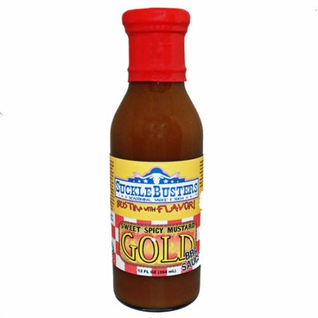 Sucklebusters Sweet Spicy Mustard Gold BBQ Sauce