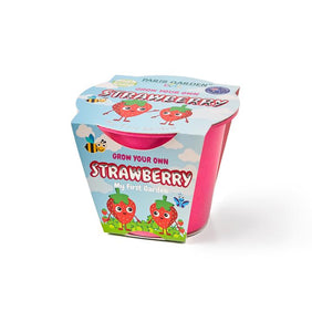Kids Biodegradable Pot: Strawberry
