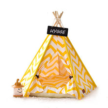 Load image into Gallery viewer, Pets Teepee - Zig Zag Stripes