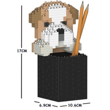 Load image into Gallery viewer, English Bulldog Pencil Cup 01S