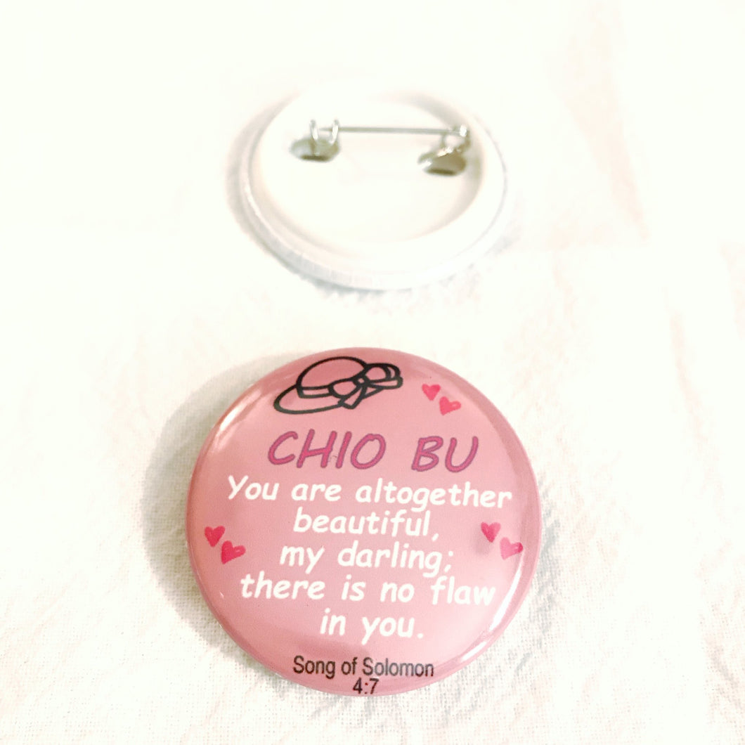 BADGE CHIO BU -