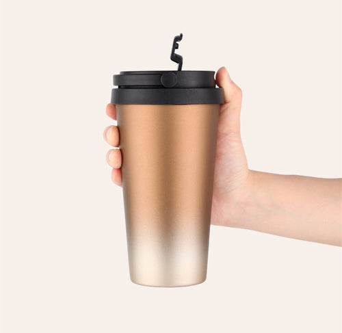 Double Wall Stainless Steel Travel Mug | GetThirsty