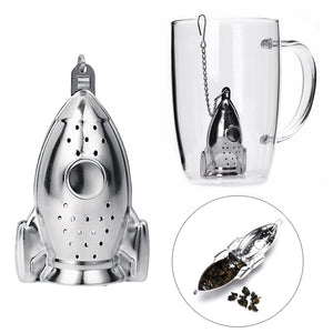 Rocket Ship Stainless Steel Tea Infuser | GetThirsty