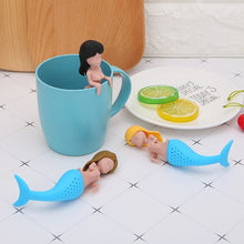 Load image into Gallery viewer, Mermaid Silicone Tea Infuser | GetThirsty