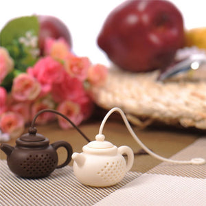 Teapot Shape Silicone Tea Infuser | GetThirsty
