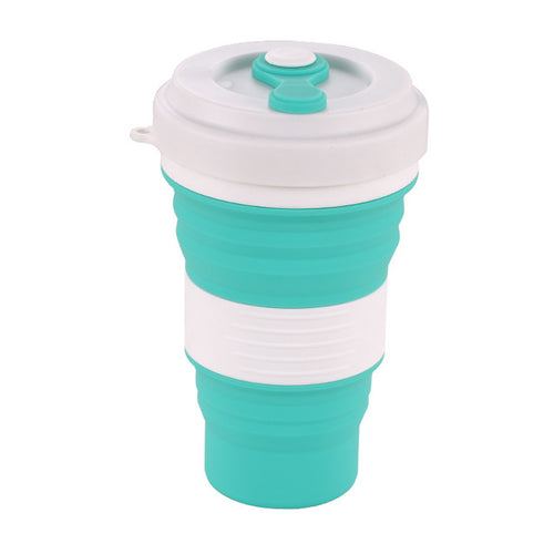 Collapsible Silicone Travel Mug | GetThirsty