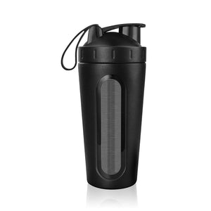 Stainless Steel Protein Shaker Bottle | GetThirsty