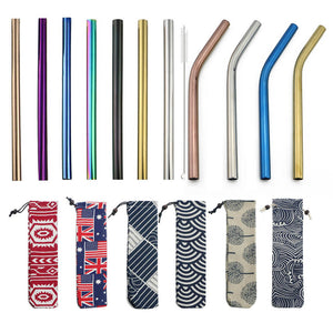 Extra Wide Metal Stainless Steel Drinking Straw | GetThirsty