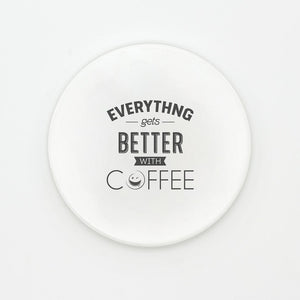 Black and White Coffee Coasters | GetThirsty