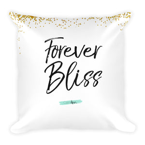 Forever Bliss Affirmation Pillow