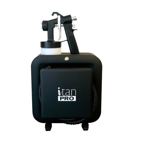 iTan Pro – Matte Black (with Deluxe Gun) Price Incl GST