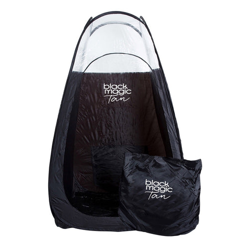 TAN TENT - BLACK & 1/3 CLEAR price incl GST