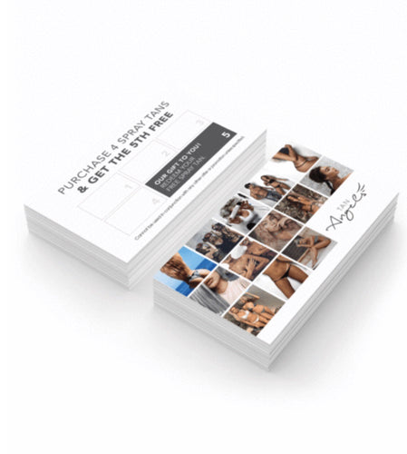 CLIENT LOYALTY CARDS 50 PACK SALON MARKETING