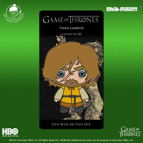 7 Chib-Pinz Game of Thrones Enamel Pin - Tyrion Lannister