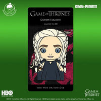 8 Chib-Pinz Game of Thrones Enamel Pin - Daenerys Targaryen