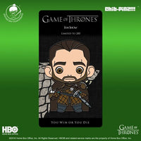 9 Chib-Pinz Game of Thrones Enamel Pin - Jon Snow