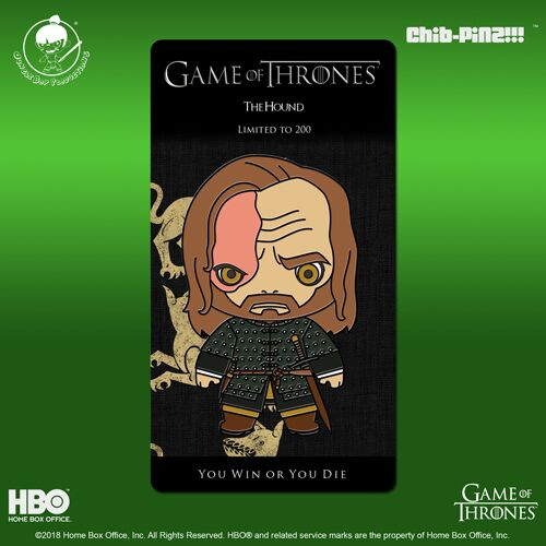 11 Chib-Pinz Game of Thrones Enamel Pin - The Hound