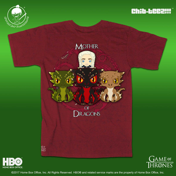 15 Chib-Teez: Mother of Dragons Unisex Shirt (Cardinal Red)