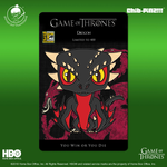 1 Chib-Pinz Game of Thrones Enamel Pin - Drogon