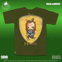 21 Chib-Teez: The Hound Unisex Shirt (Military green)