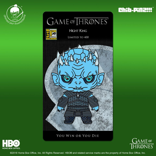 5 Chib-Pinz Game of Thrones Enamel Pin - Night King