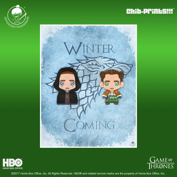Chib-Prints: Winter is Coming