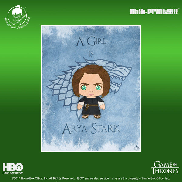 29 Chib-Prints: A Girl is Arya Stark