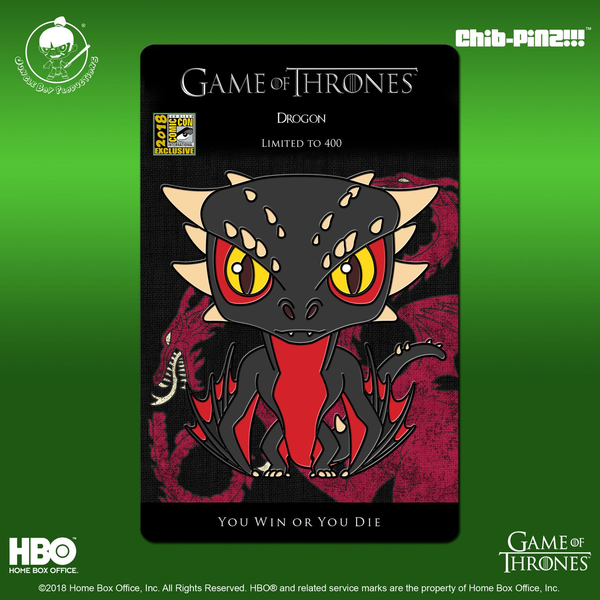 1 Game of Thrones Drogon Pin
