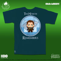 The North Remembers Shirt - Midnight Jade