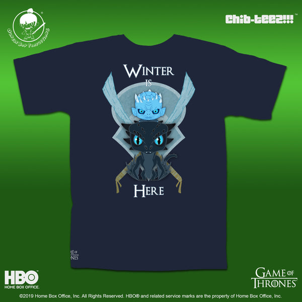 Winter Is Here 2.0 - Navy Blue