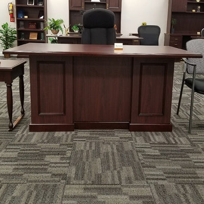 Junior Executive Mahogany Desk