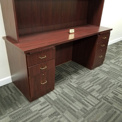 Kneespace Credenza with Drawers