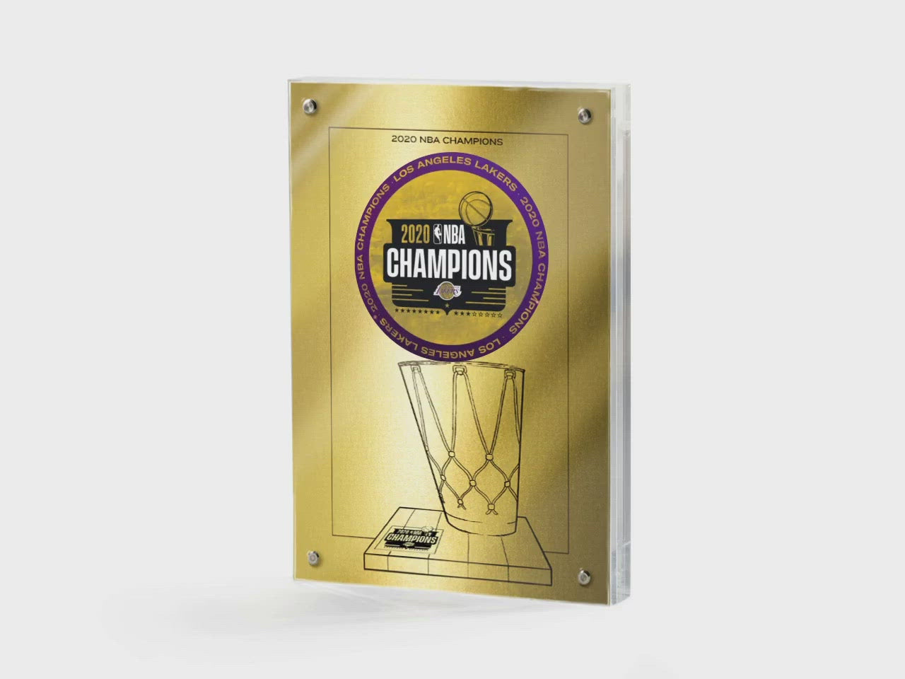 NBA LA Lakers 2020 Championship