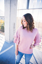 Phoebe Sweater Top - Copper Sky Boutique