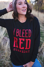 I Bleed Red Sweatershirt - Copper Sky Boutique