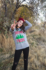 Farm Fresh Christmas Tree Sweatshirt - Copper Sky Boutique