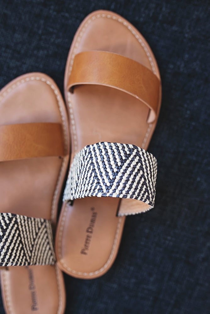 Izel Double Strap Sandals - Copper Sky Boutique