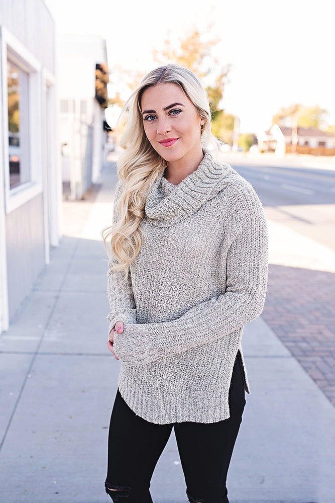 Lacee Cowl Neck Sweater