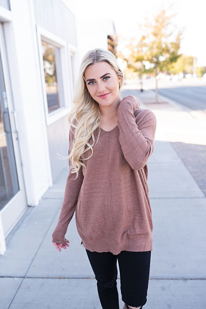 Brianne Sweater - Copper Sky Boutique