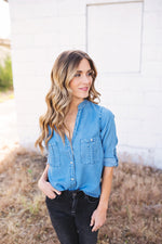 Dakota Chambray Top