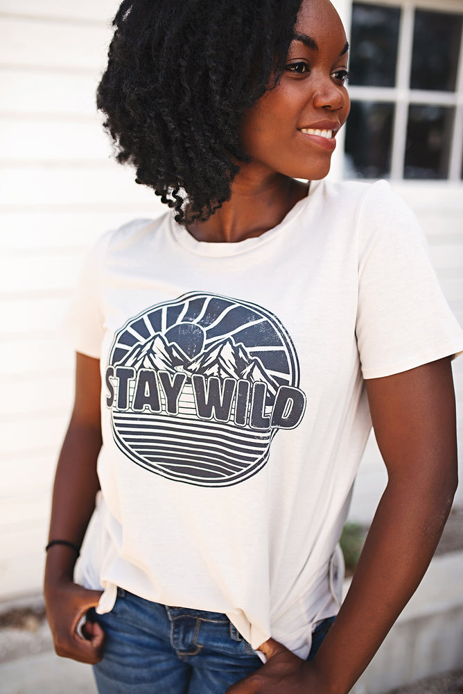 Stay Wild Tee - Copper Sky Boutique