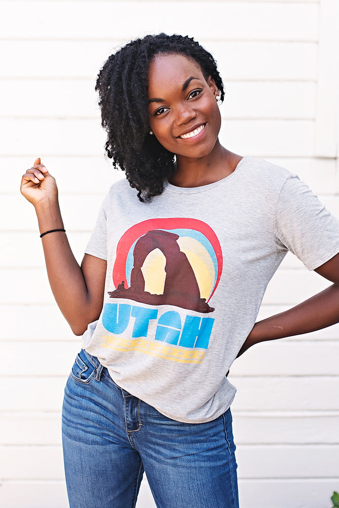 Utah Arch Tee - Copper Sky Boutique