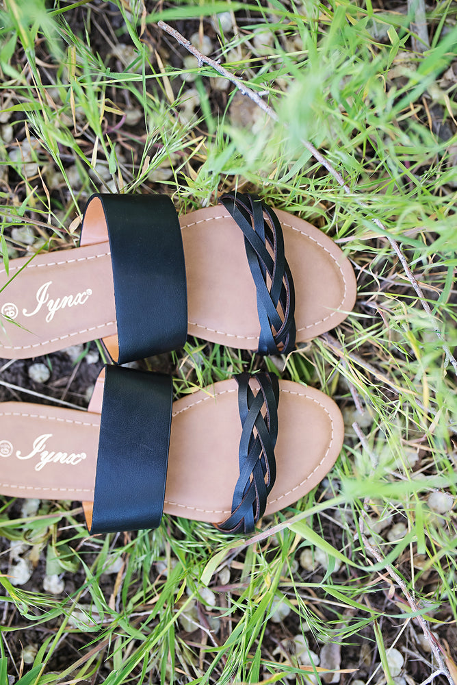 Jada Double Strap Sandal - Copper Sky Boutique