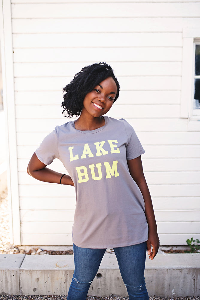 Lake Bum Tee - Copper Sky Boutique
