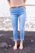 Darcey High Waisted Jeans - Copper Sky Boutique